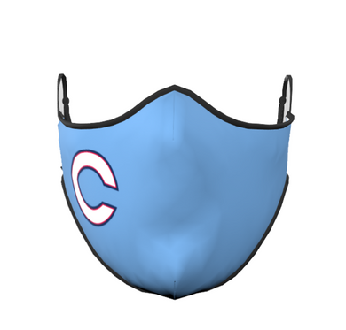 Columbus C Face Mask (Light Blue)