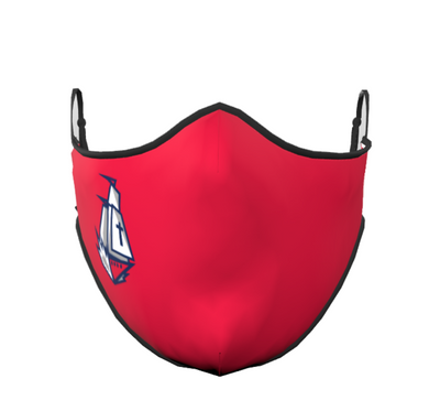 Columbus Ship Face Mask (Red)