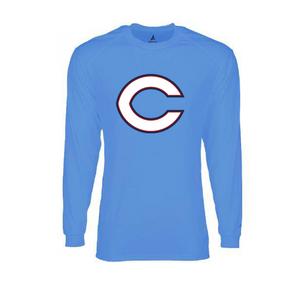 BSN Dri-FIT Ladies Long Sleeve (Blue)
