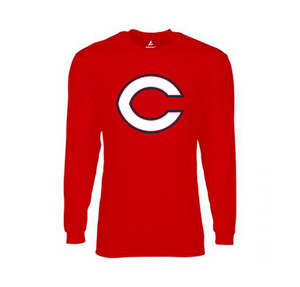 BSN Dri-FIT Mens Long Sleeve (Red)