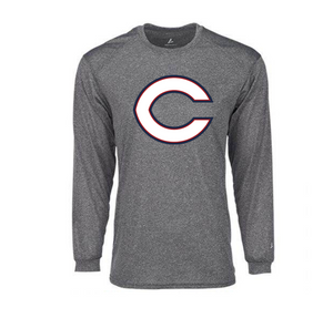 BSN Dri-FIT Mens Long Sleeve (Steel)
