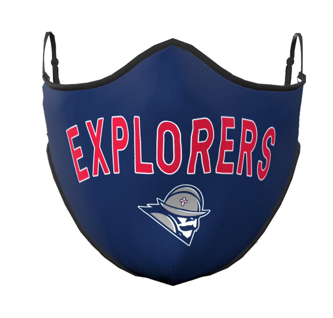 Classic Explorers Face Mask