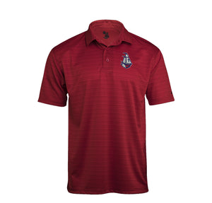 Columbus Polo - Ship (Red Stripes)
