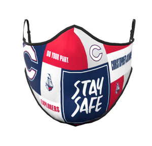 Do Your Part | Stay Safe Explorers Face Mask