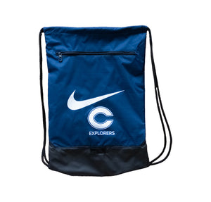 Nike Drawstring Bag (Navy)