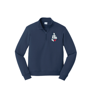Columbus Ship Quarter-Zip Pullover Jacket