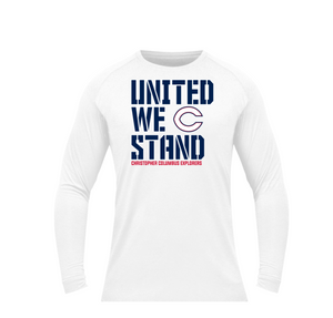 BSN Dri-FIT UNITED WE STAND LS (White)