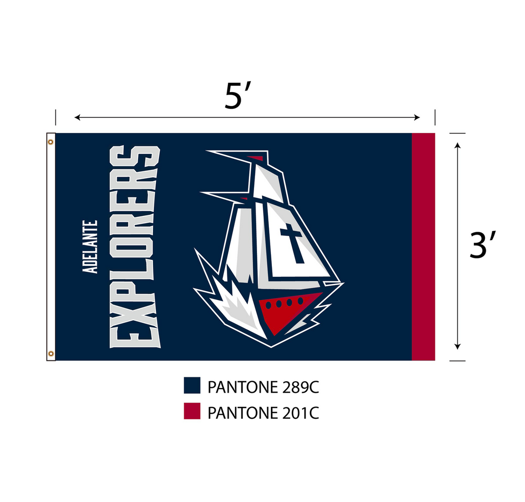 Columbus Ship Deluxe Dorm/House Flag
