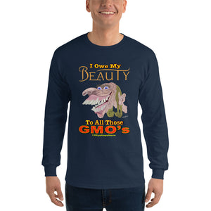 I OWE MY BEAUTY... to all those GMO's