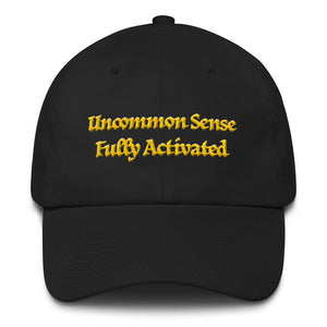Uncommon Sense Fully Activated