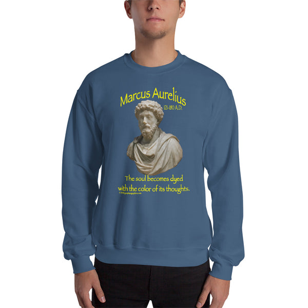 MARCUS AURELIUS... The Soul Dyed