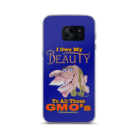I OWE MY BEAUTY TO ALL THOSE GMO'S