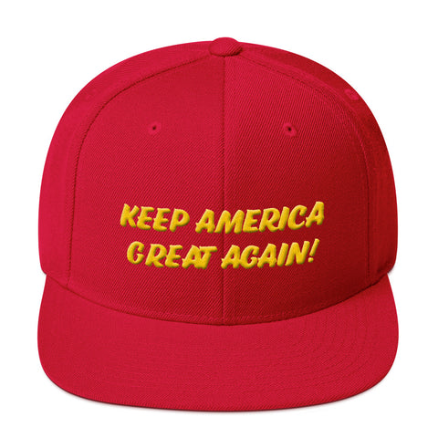 KEEP AMERICA GREAT AGAIN (KAGA) #3 3D   Snapback Cap