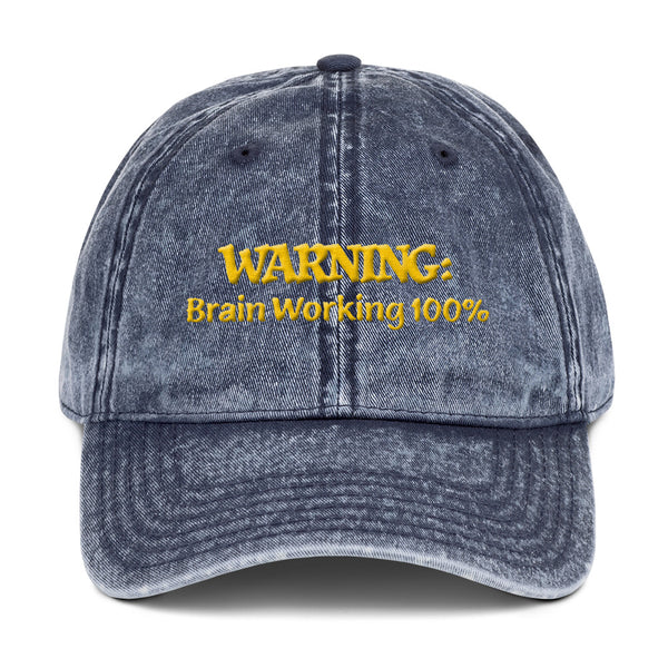 WARNING: Brain Working at 100% #1 3D