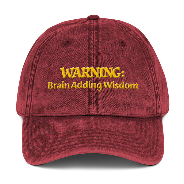 WARNING: Brain Adding Wisdom #1 3D