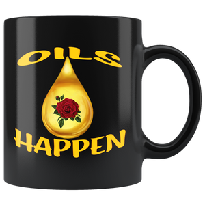 OILS HAPPEN  -11oz