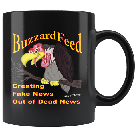 BUZZARDFEED... CREATING FAKE NEWS OUT OF DEAD NEWS