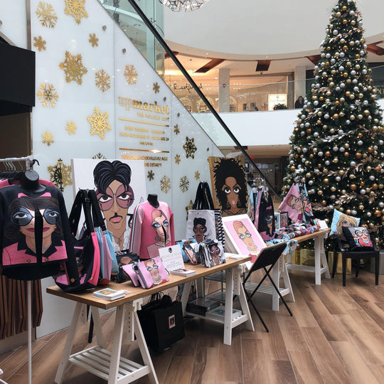 HOLIDAY POPUP AT YORKVILLE VILLAGE TORONTO - MICHELLE VELLA