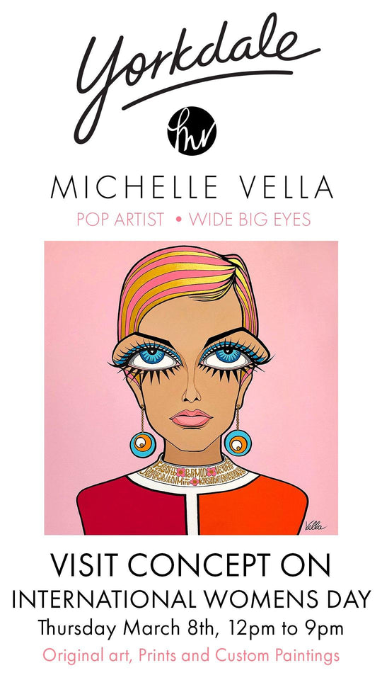 YORKDALE POP UP - MICHELLE VELLA