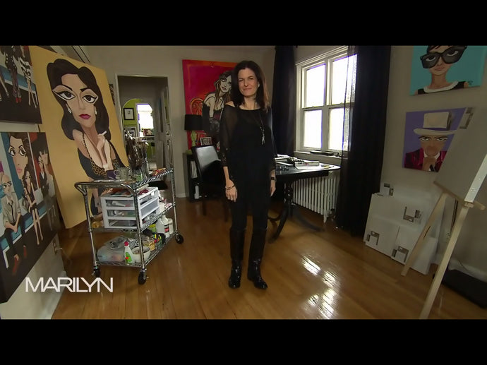 MICHELLE VELLA ON THE MARILYN DENIS SHOW