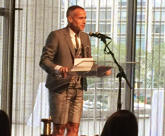 FIT COUTURE COUNCIL AWARD LUNCHEON - honouring Thom Browne - MICHELLE VELLA