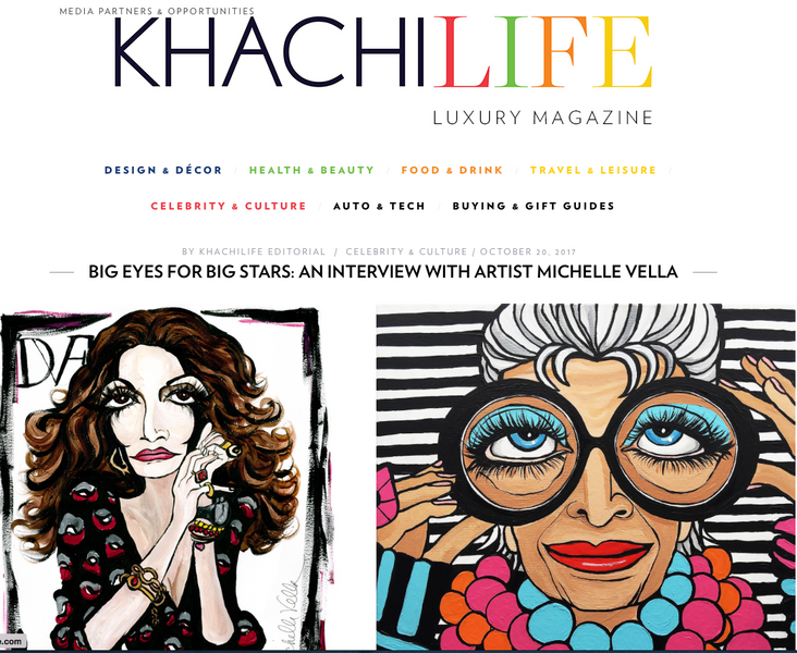 ARTIST INTERVIEW with KHACHILIFE LUXURY MAGAZINE