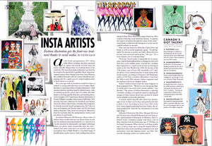ELLE CANADA: INSTA ARTISTS, CANADA'S GOT TALENT! JANUARY 2017