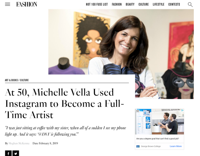 FASHION MAGAZINE Interviews Michelle Vella