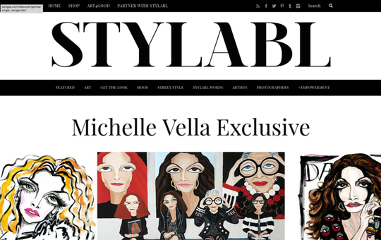 STYLABL MICHELLE VELLA EXCLUSIVE
