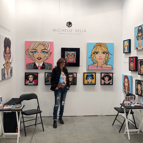 The Artist Project 2018 Toronto Art Show Michelle Vella