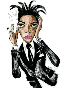 Basquiat in Tom Ford, Limited Edition Print