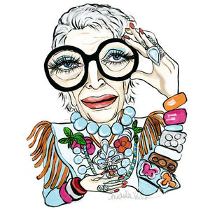 Iris Apfel 2015, Limited Edition Print