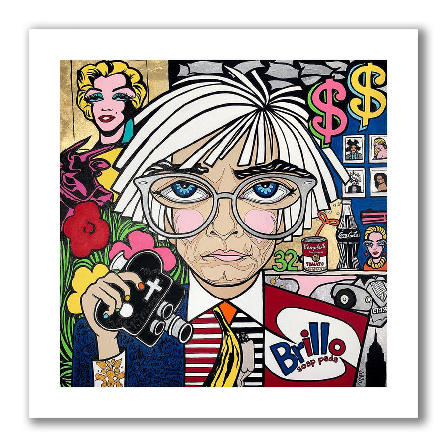 Andy Warhol Limited Edition Print - MICHELLE VELLA
