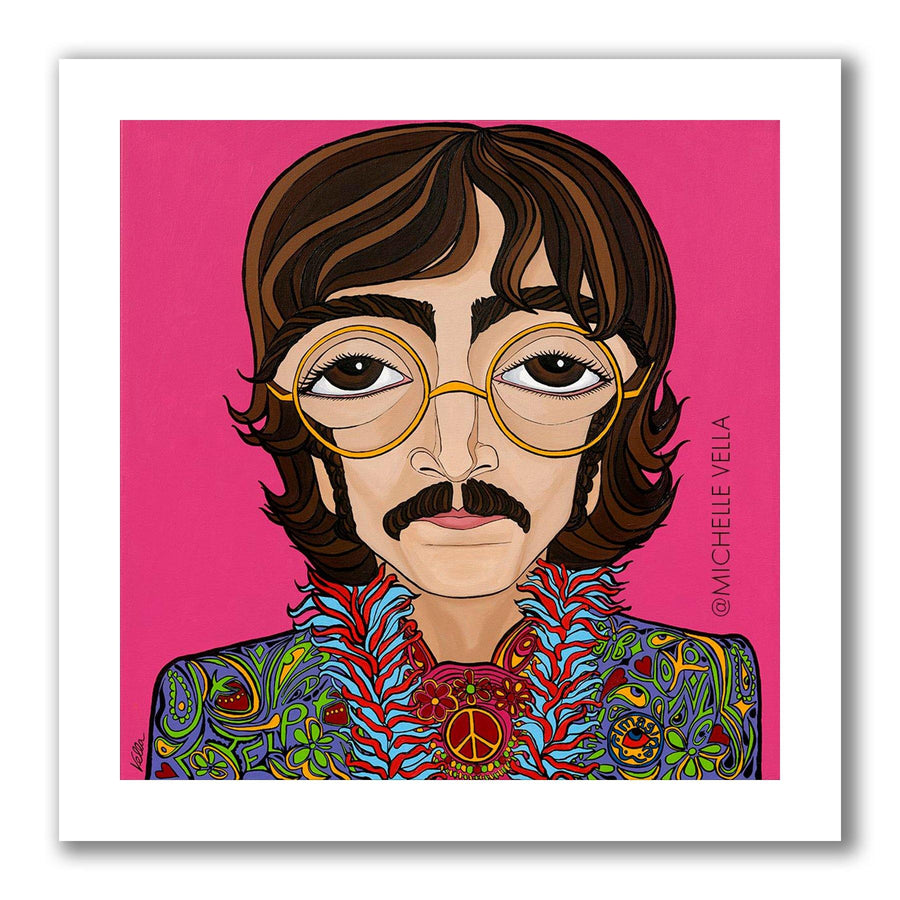 John Lennon, The Beatles, Limited Edition Print - MICHELLE VELLA