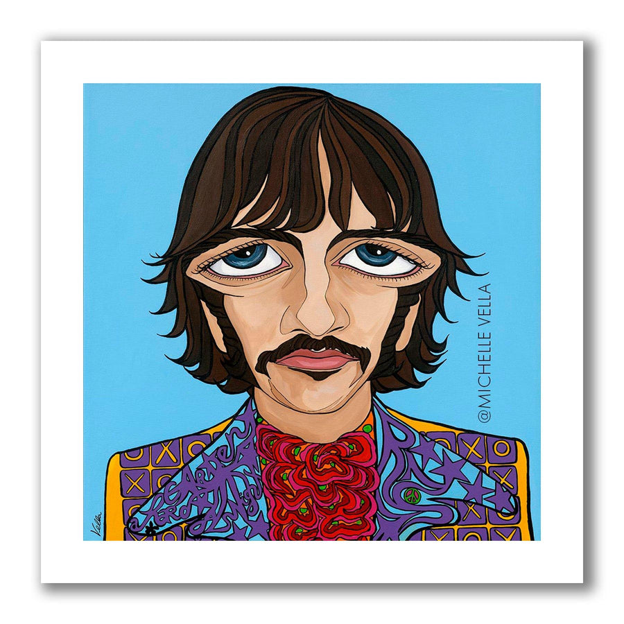 Ringo Starr, The Beatles, Limited Edition Print - MICHELLE VELLA