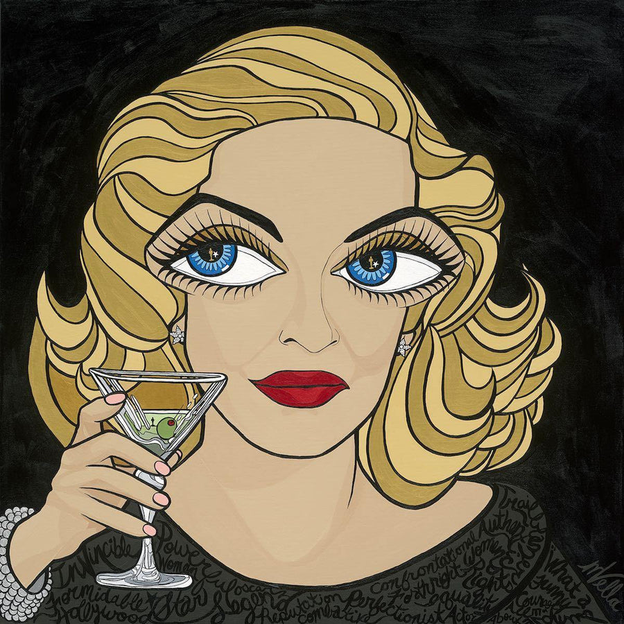 "Bette Davis, ""All About Eve"" Limited Edition Print"