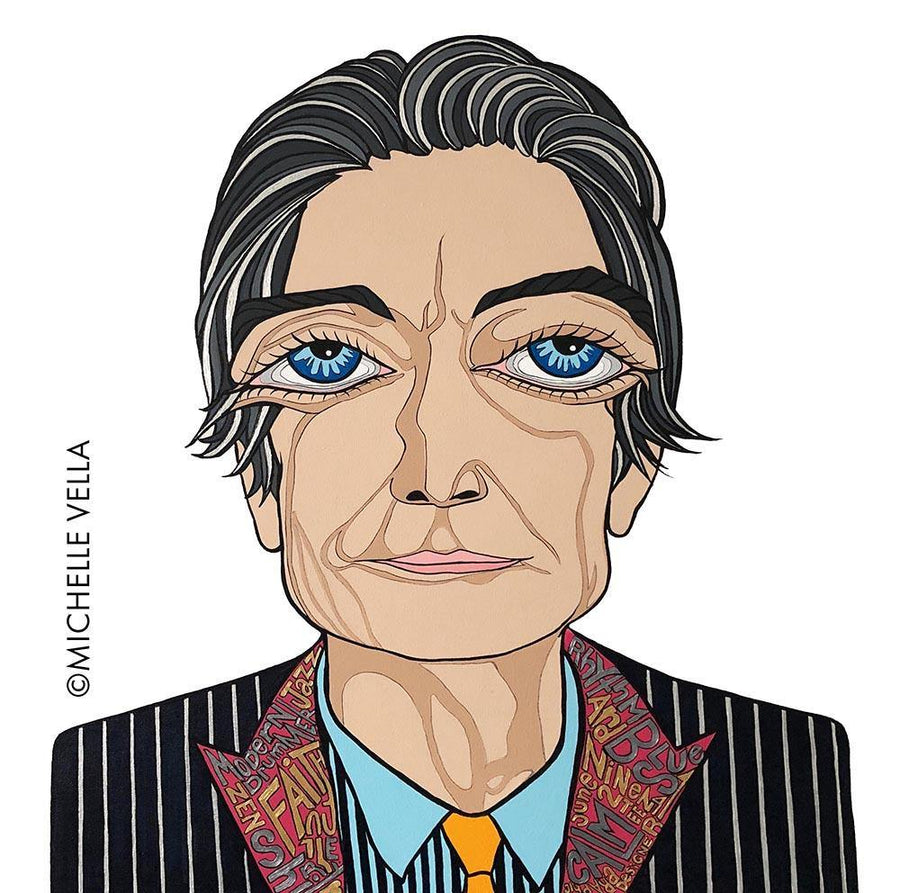 Charlie Watts, The Rolling Stones, Limited Edition Print - MICHELLE VELLA