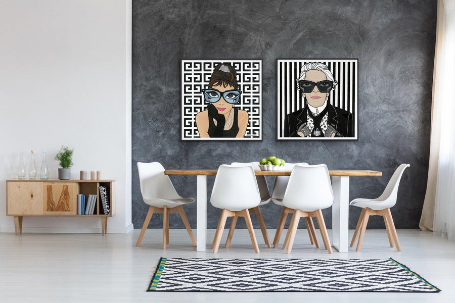 Karl Lagerfeld, Limited Edition Print