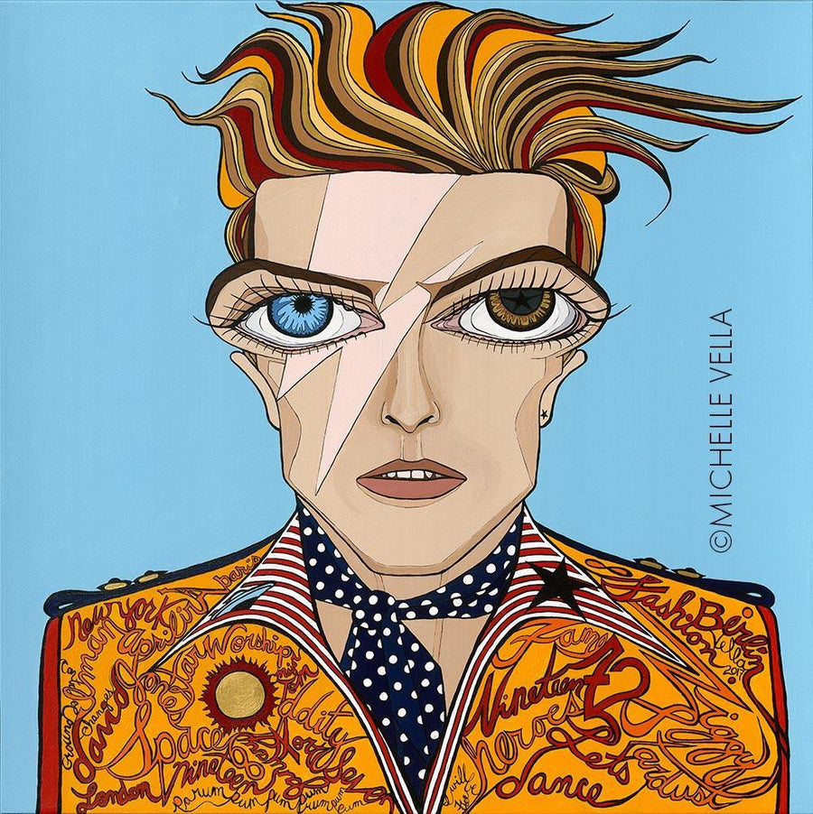 Bowie, Limited Edition Print