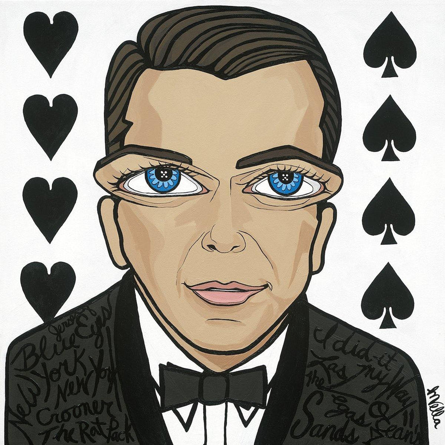 "Frank Sinatra, ""The Rat Pack"" Limited Edition Print - MICHELLE VELLA"