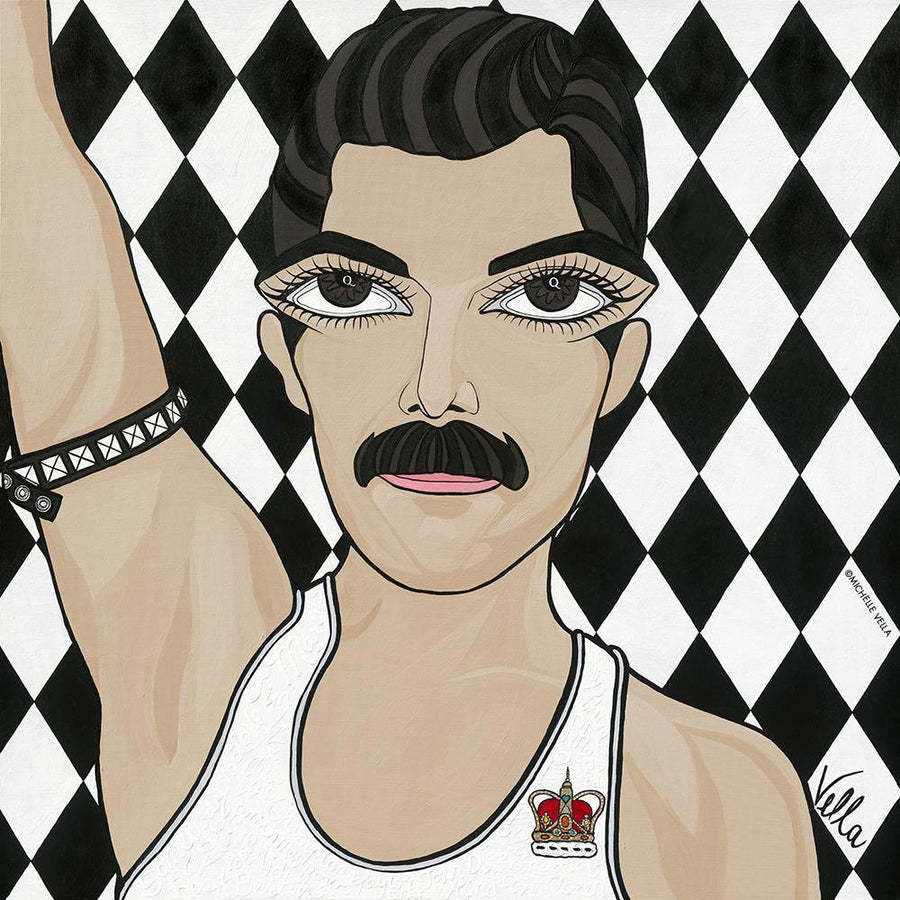 Freddie Mercury, Queen, Limited Edition Print