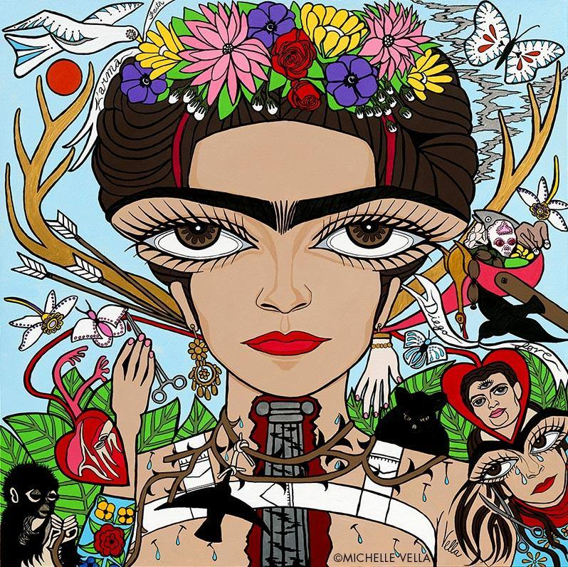 Frida Kahlo Limited Edition Print