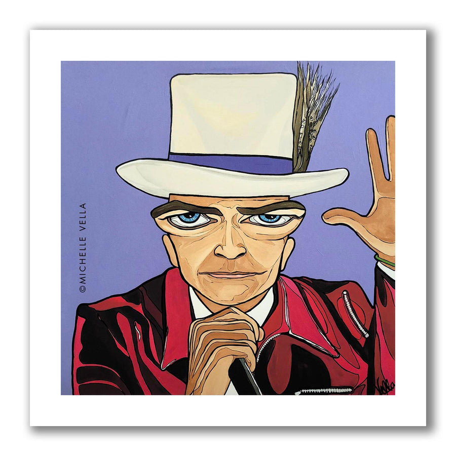 Gord Downie 2016 Limited Edition Print - MICHELLE VELLA