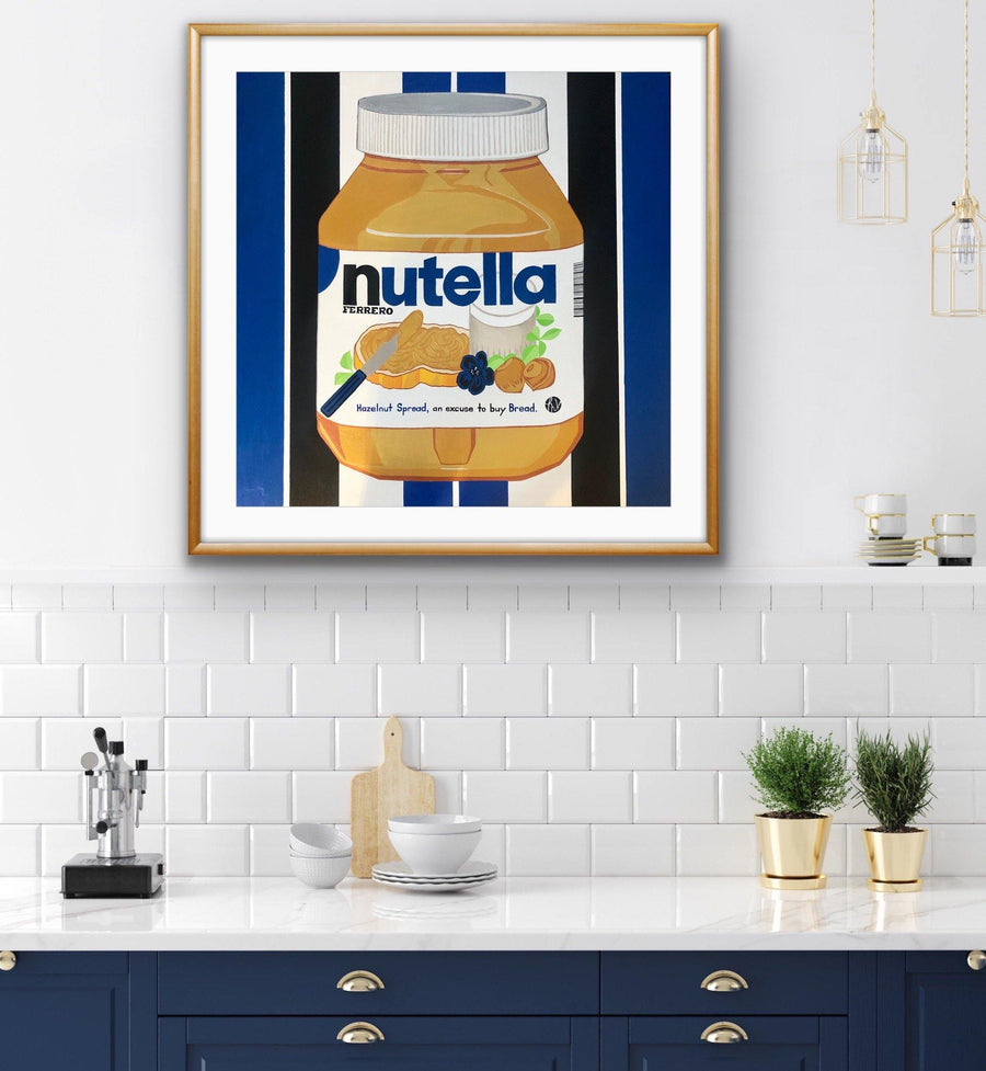 Nutella, Limited Edition Print