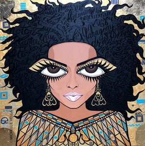 Diana Ross, Woman in Gold, Limited Edition Print