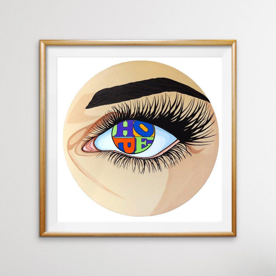 Eye of Hope, Limited Edition Print