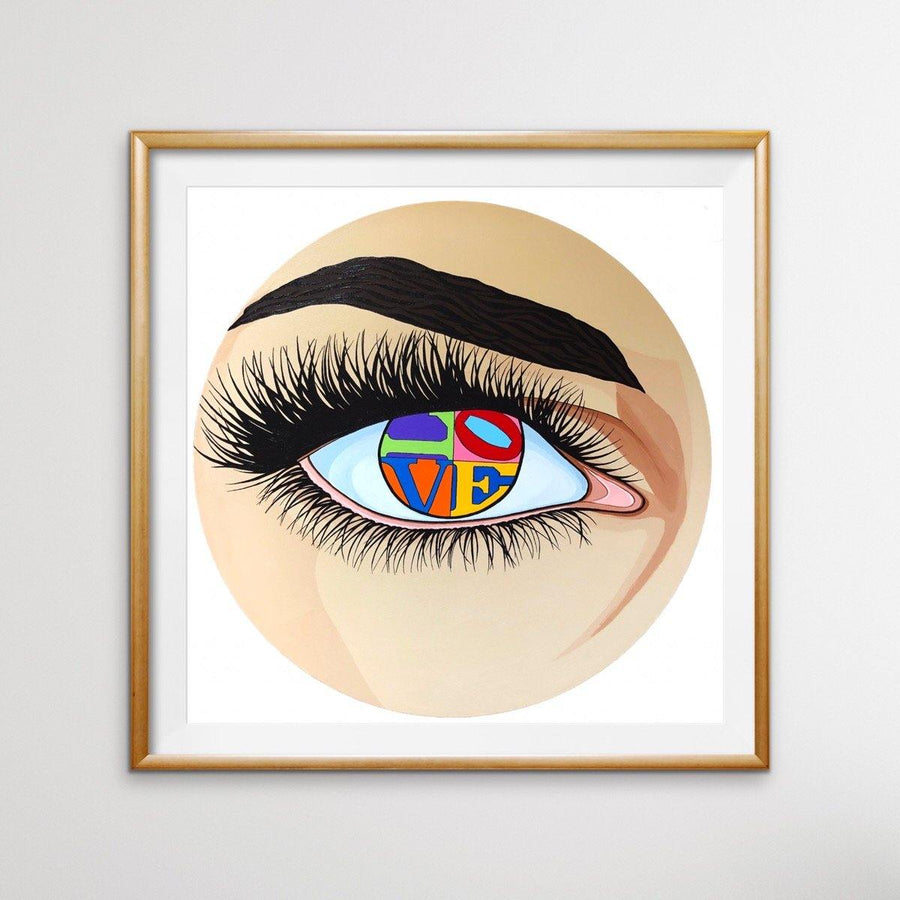 Eye of Love, Limited Edition Print