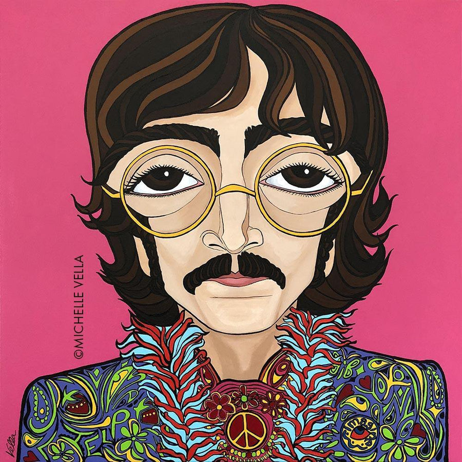 John Lennon, The Beatles, Limited Edition Print