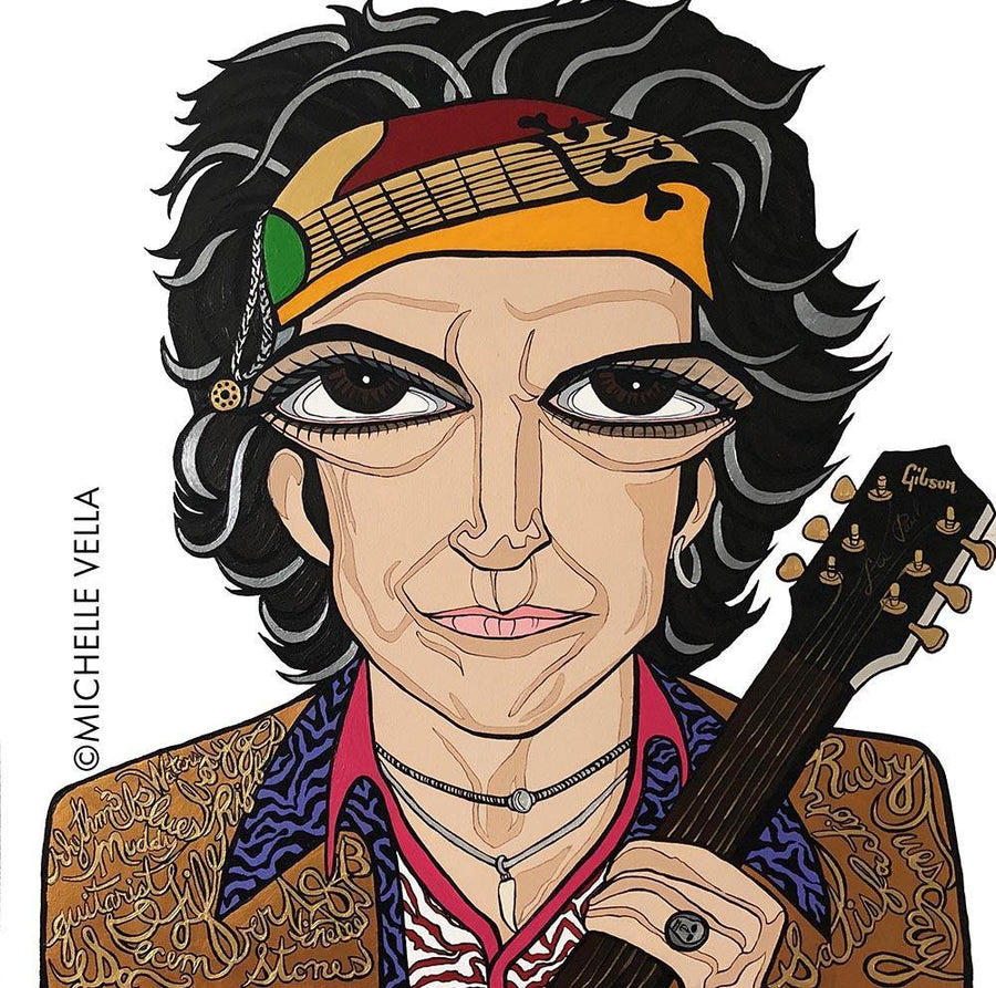 Keith Richards, The Rolling Stones, Limited Edition Print