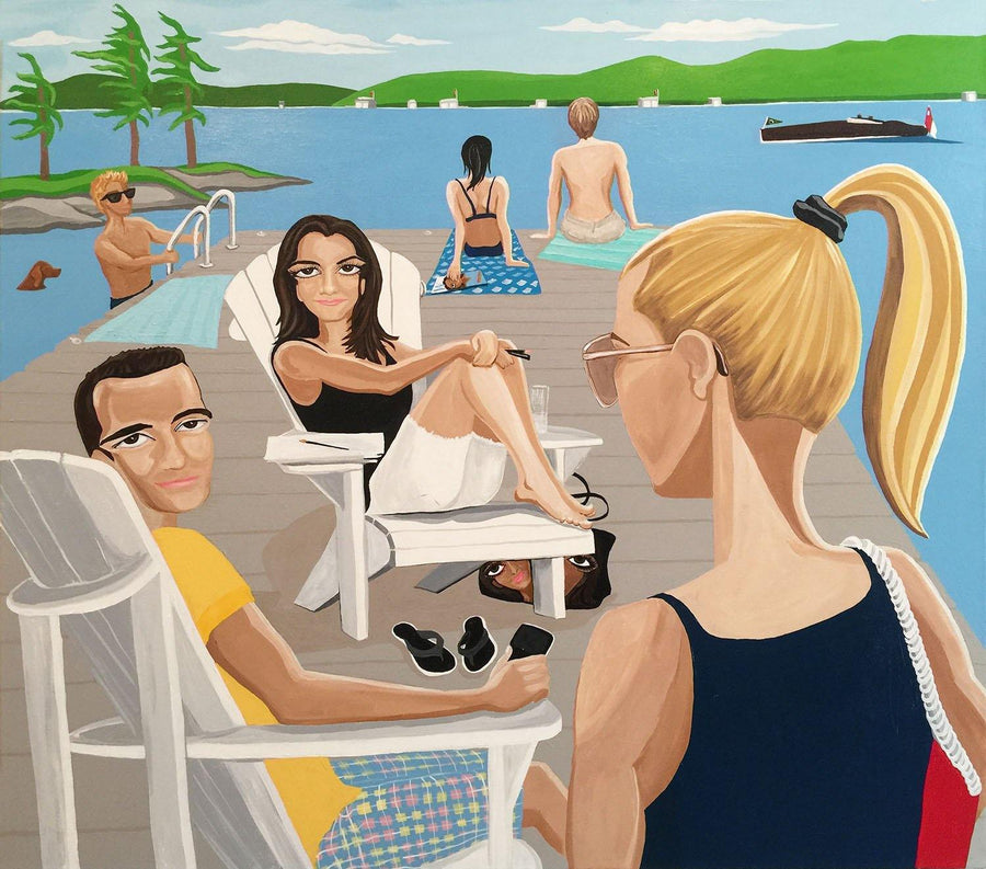 Lake Life, Original painting Available